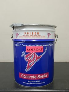 Concrete Sealer Types - Same Day
