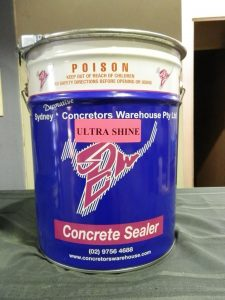Concrete Sealer Types - Ultra Shine