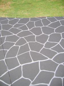 Stencil Concrete